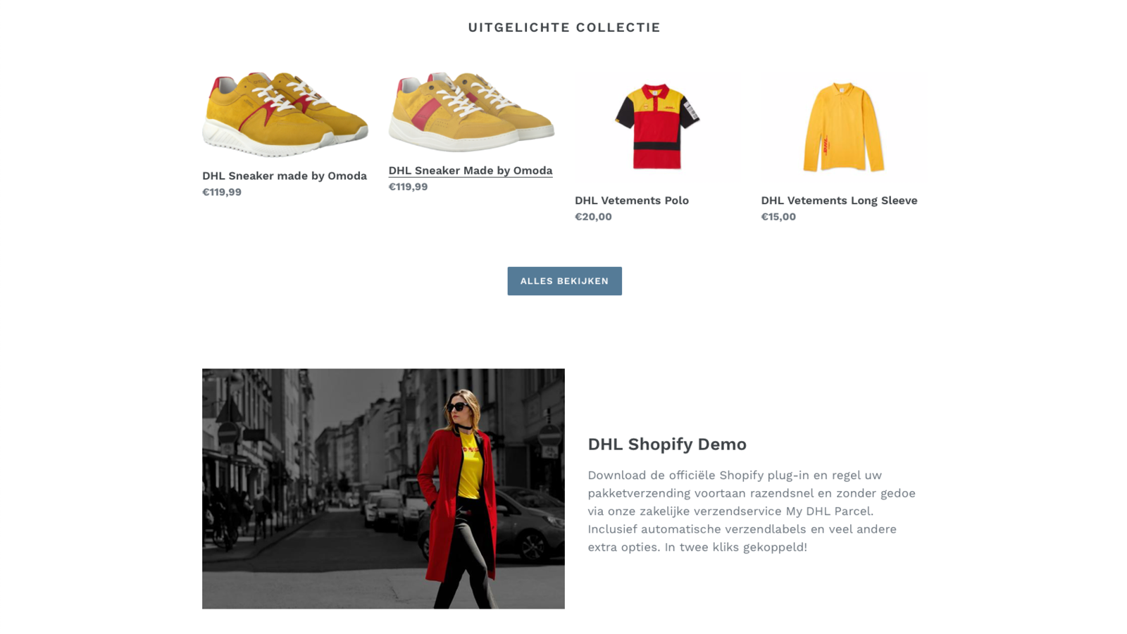 Consumer shops in your online store