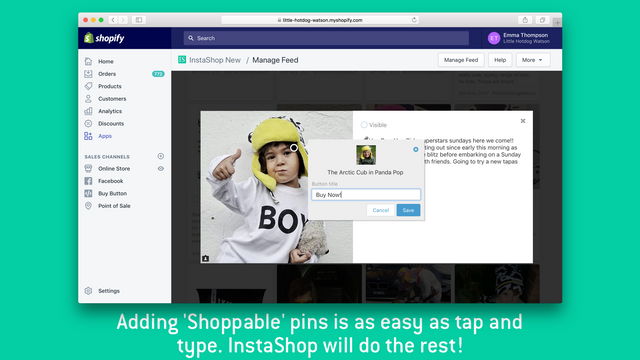 Adding pins is simple. Click on the picture. Then start trping t