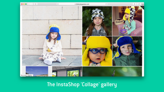 InstaShop's 'Collage' gallery layout.