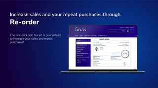 Drive more repeat purchases with reorder feature