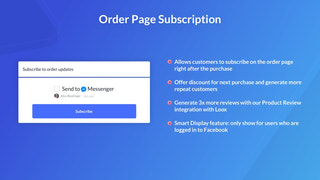 Allow customers to message your. Facebook page through Messenger