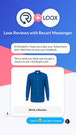 Loox Subscribe Customers to Facebook Messenger List with Popups