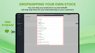 Wefullfill Dropship Your own Stock