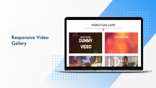 Show video gallery layout