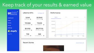 Track KPIs and results