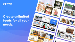 Create unlimited feeds for all your pages.