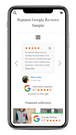 shopify google reviews widget mobile