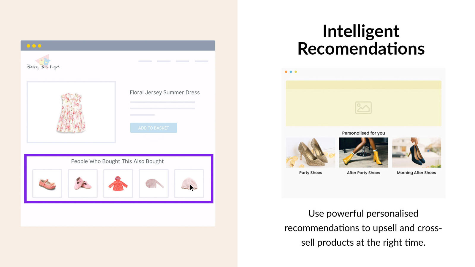 Intelligent Product Recommenders