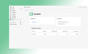 Fully embedded in the Shopify Admin
