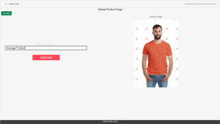 Upload image as a Product