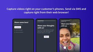 Send SMS to capture videos on your customer's phones