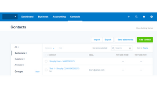 Xero Integration by AllFetch: Sync customers