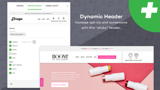 Dynamic Headers that have been tested to increase conversions