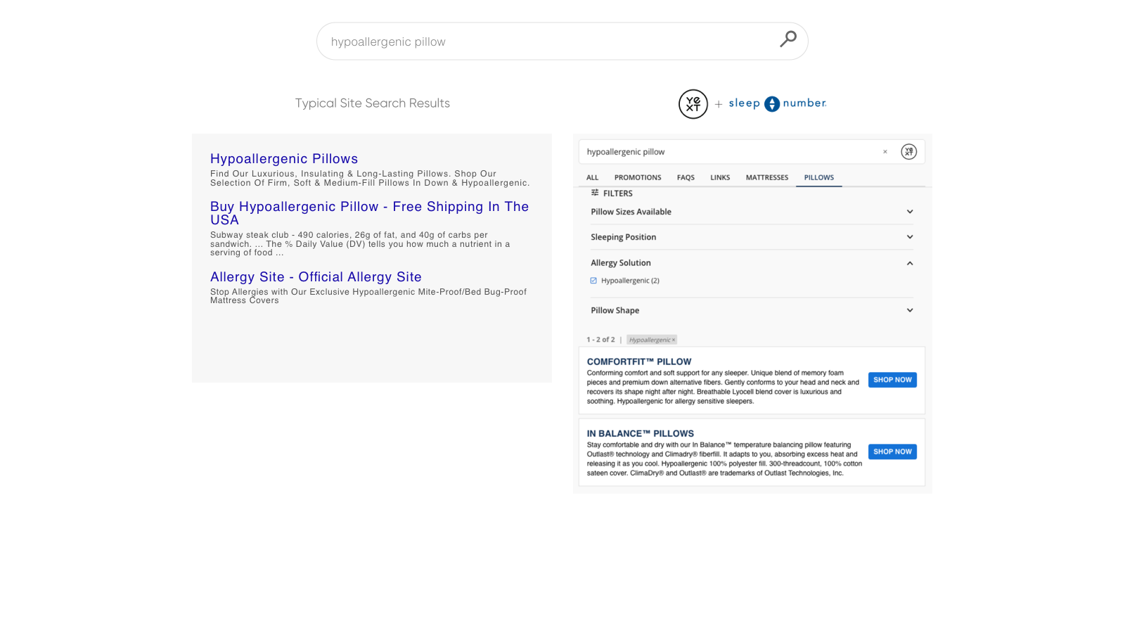 Increase conversion with clear calls to action in search