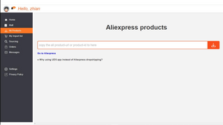 Import products from Aliexpress