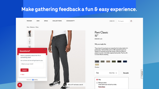 Make gathering feedback a fun & easy experience.