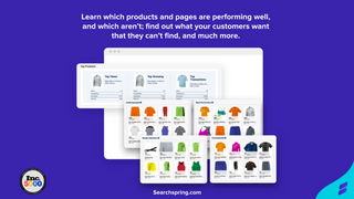 Learn which products & pages are performing well, & which aren't