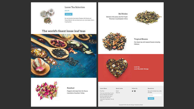 Sample page created with Hypervisual