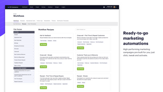 High-performing email marketing campaigns pre-built for you.
