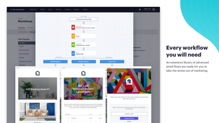 A visual email workflow editor to automate any email campaign.