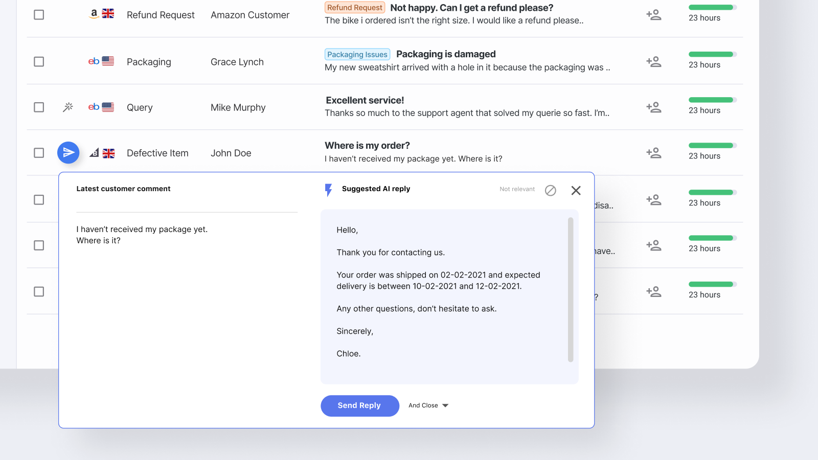 Shopify Live Chat by eDesk