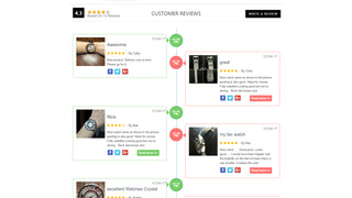 Time Line Layout - - Reviews - Product reviews - photo reviews