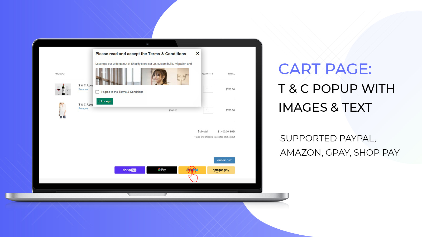 Terms and Conditions Checkbox on shopify cart