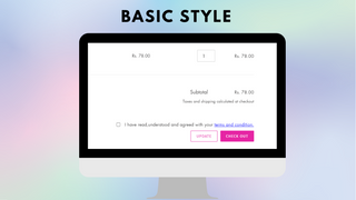 Basic style of I agree to terms checkbox - Tech Dignity