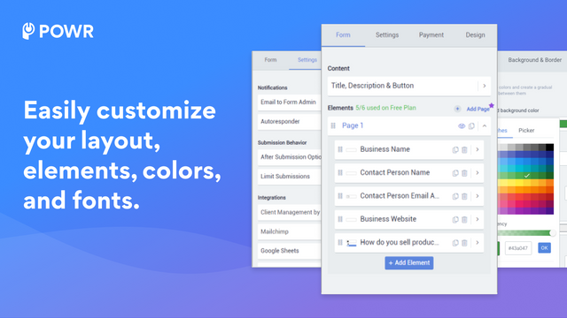Customize your contact form.