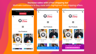 Free Shipping Bear Shopify App by Conversion Bear