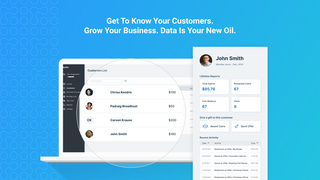Manage loyalty rewards, discounts and growth from your Dashboard