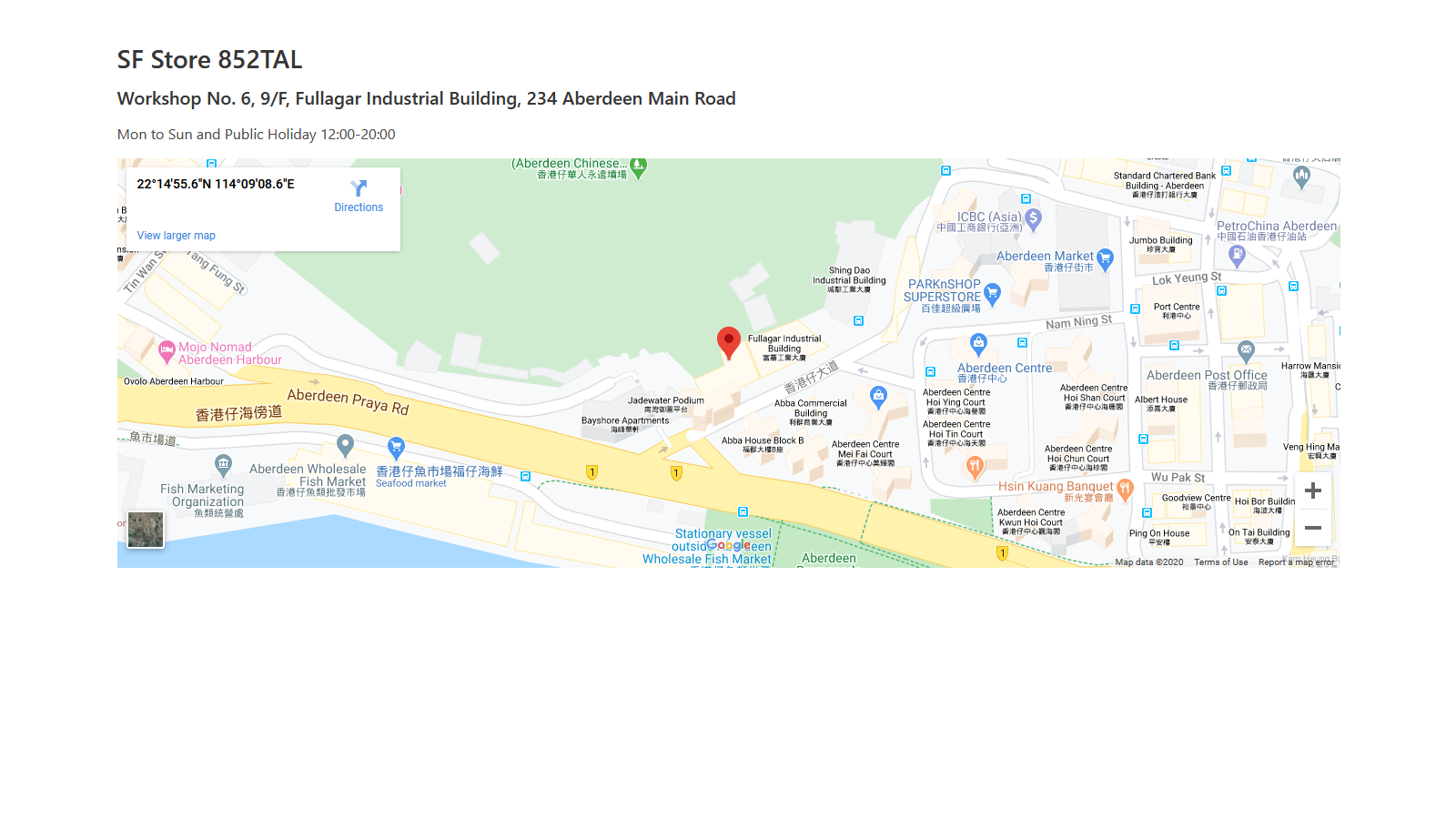 Display pickup points location to your customer with Google Map