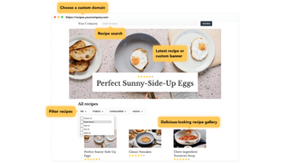 Use recipes and allow your customers to filter them