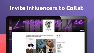 Create your custom profile and content for the Afluencer app!