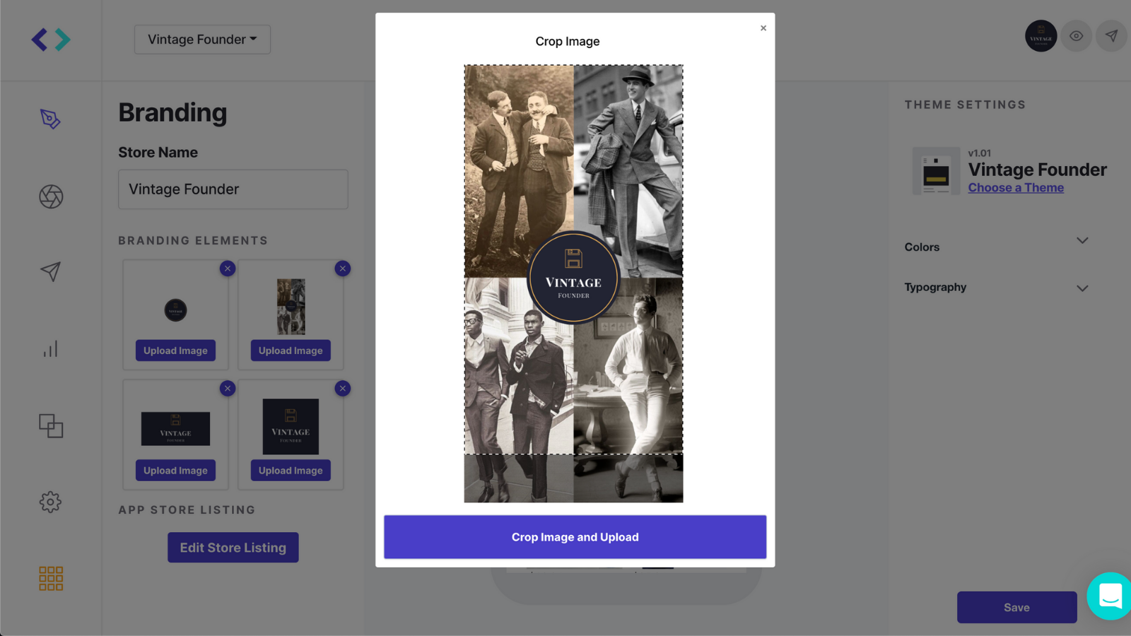 Easily upload and customize to create a bespoke mobile app