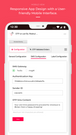 backend - mobile view