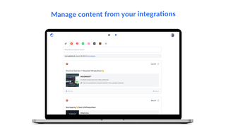 Publish content from your integrations - Comity