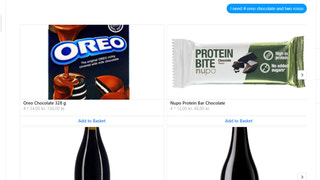 Find multiple products at once! That too with different amounts!