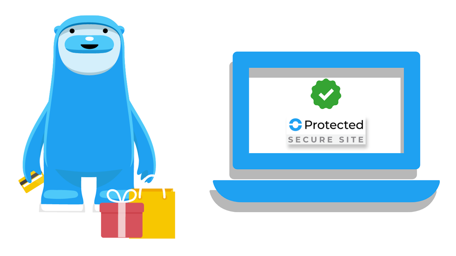 SafeShop Badge on every page gives customers confidence