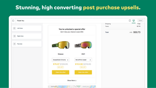AfterSell Post Purchase Upsell Left Side