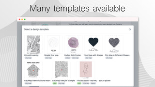 Choose from our design templates or add your own