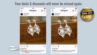 Your deals & discounts will never be missed again