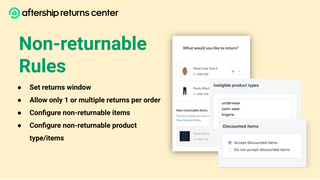 Configure Non-Returnable Items