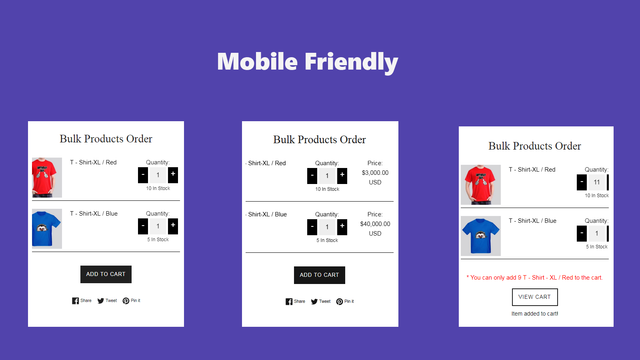 Layout with mobile version
