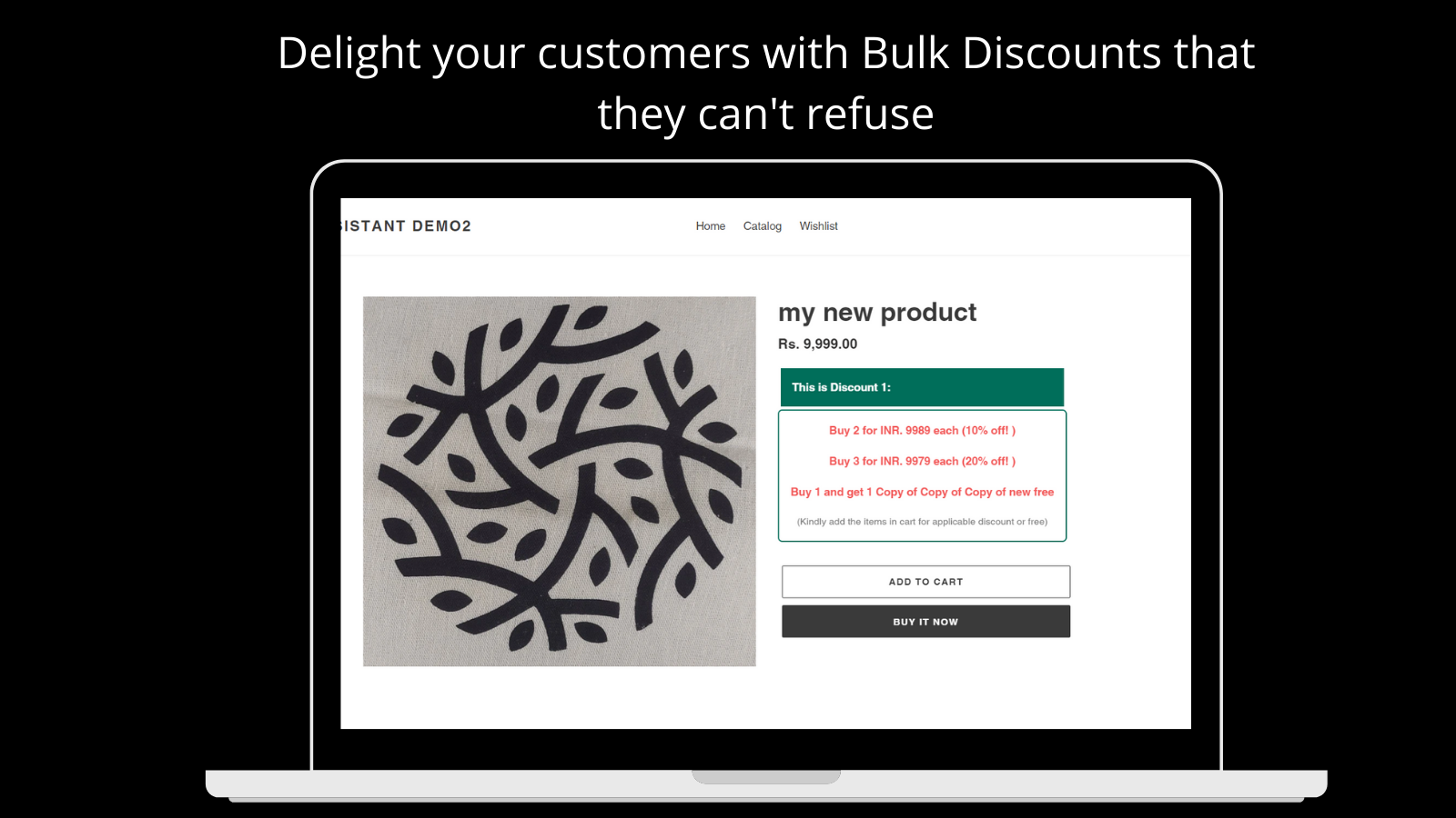 Quantity Discounts with Tiered Pricing Rules