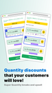 Quantity Discounts with Tiered Pricing that your customers love!