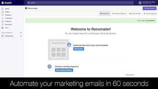 Automate your marketing emails in 60 seconds