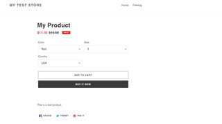Option to add from 100+ variants to cart from the product page