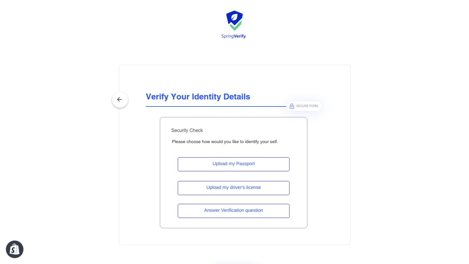 Select your Id form