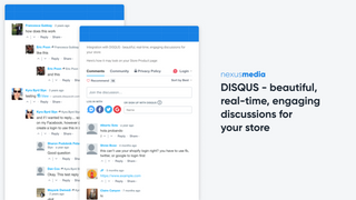 DISQUS comments widgets are SEO optimized, built-in social shari